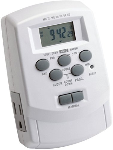 Kichler  15556WH Digital Timer with Daylight Sa ()