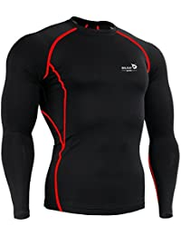 Men's Cool Dry Skin Fit Long Sleeve Compression Shirt