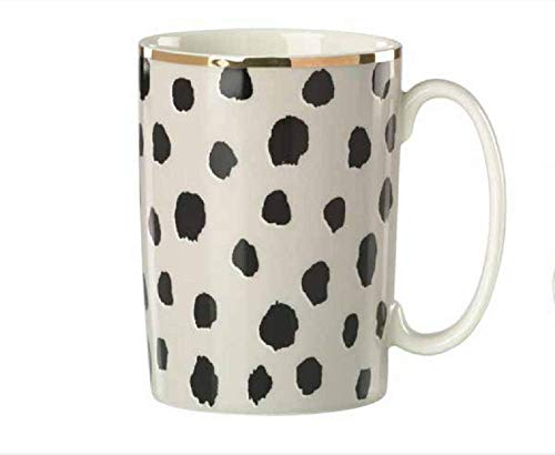 (Kate Spade Boudoir Chic Flamingo Dot Mug, 12 Ounce)