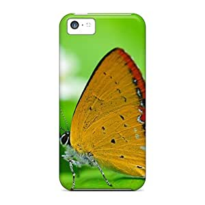 LVP2028WPWE Snap On Case Cover Skin For Iphone 5c(gulf Fritillary Butterfly)