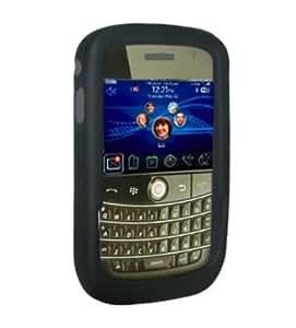 Amzer Jelly - Carcasa de silicona para BlackBerry Curve 8520 Gemini, color negro