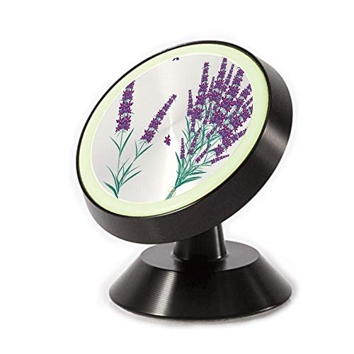 Magnetic Dashboard Cell Phone Car Mount Holder,Bouquet from Provence France Fragrant Herbal Flora,can be Adjusted 360 Degrees to Rotate,Phone Holder Compatible All Smartphones ()