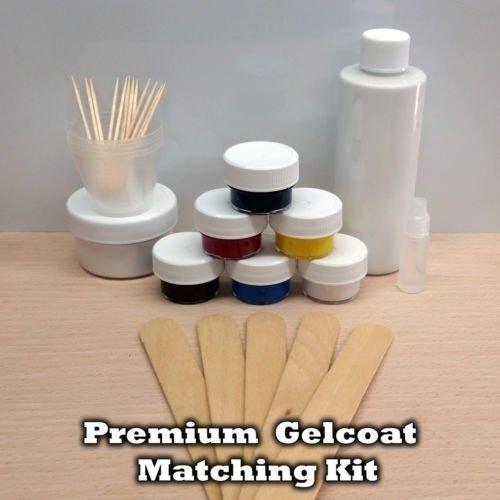 PREMIUM GELCOAT SCRATCH CHIPS GEL COAT REPAIR KIT BOAT PARTS (Coat Gel Kit Repair)