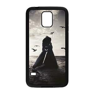 HB-P-CASE DIY Design Grim Reaper Pattern Phone Case For SamSung Galaxy S5 i9600