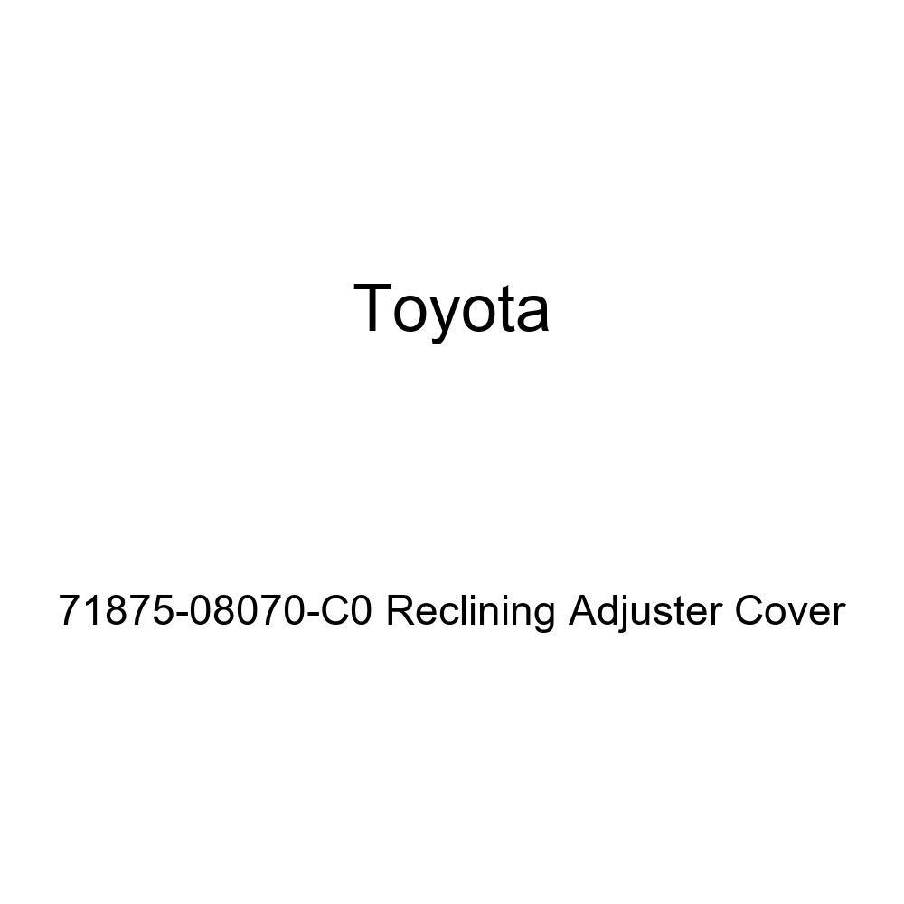 TOYOTA Genuine 71875-08070-C0 Reclining Adjuster Cover