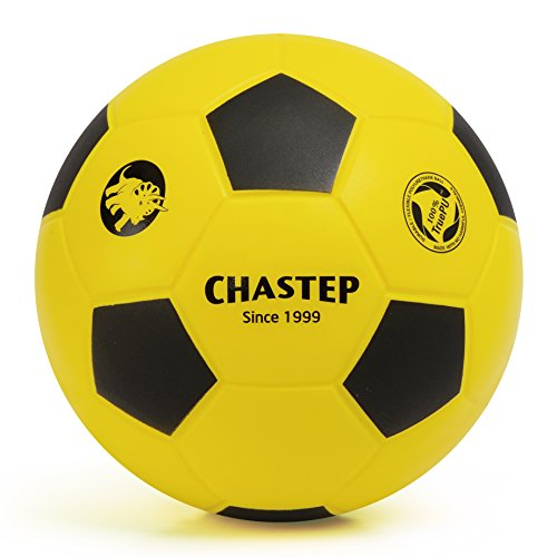 chastep-8-foam-soccer-ball-perfect-for-kids-or-beginner-play-and-excercise-soft-kick-safeyellow-blac