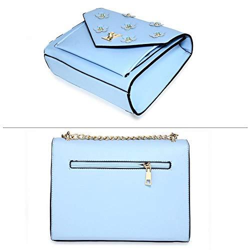 L'épaule Sac Beddings Pour Ag00654 Ag00626 Deluxe Ivory Blue À Femme Porter OY6Tg