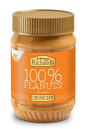 Crazy Richard Peanut Butter, Crunchy, 16 oz