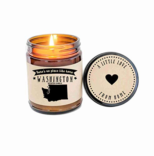 Washington Scented Candle Missing Home Homesick Gift for sale  Delivered anywhere in USA