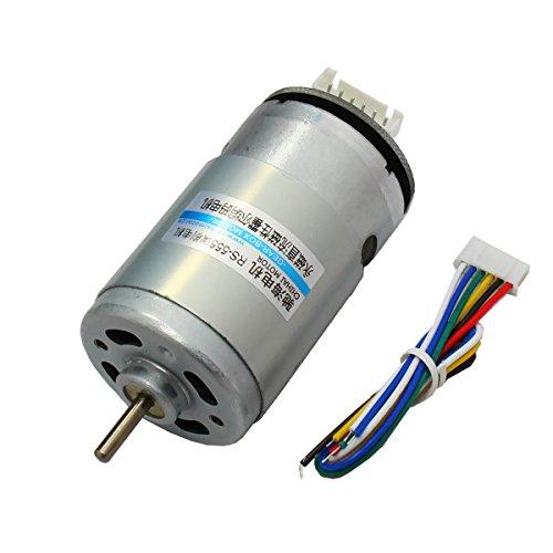 LYM AB Dual Phase Incremental Encoder DC Motor 12V 7800rpm