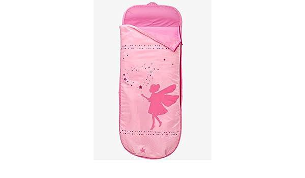 VERTBAUDET Saco de dormir Hada con colchón integrado. Rosa Estampado Hada UNICA: Amazon.es: Hogar