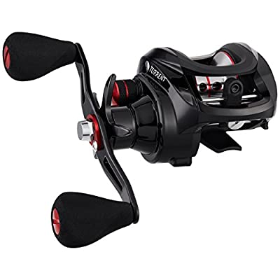 Piscifun NEW Torrent Baitcasting Fishing Reel 18LB Carbon Fiber Drag 7.1:1 Baitcasters saltwater or freshwater Unequaled Affordable High-tech Innovation Baitcast Reels by Piscifun