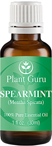 Spearmint Essential Oil 30 ml. (1 oz.) 100% Pure, Undiluted, Therapeutic Grade.