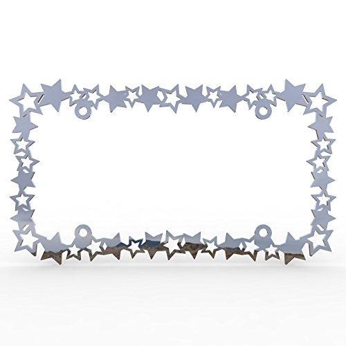 stars license plate frame - 3
