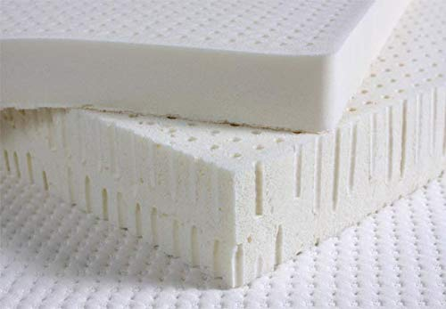 """PlushBeds 3"""" Soft 100% Natural Talalay Latex Mattress Topper - Queen"""