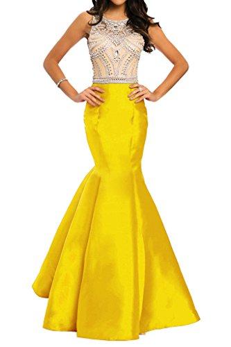 Ivydressing - Vestido - para mujer Dorado