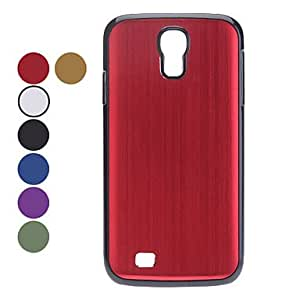 HJZ Solid Color Hard Case for Samsung Galaxy S4 I9500 (Assorted Colors) , Gold