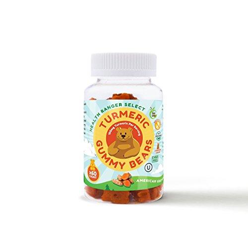Hawaiian Turmeric Gummy Bears 60 Count