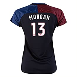 Alex Morgan Jersey  13 Black Away 3 Star 2016 USWNT 3 Star Women s Soccer  Jersey (Medium) Misc. cb03402a0