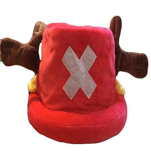 One Piece Tony Chopper Plush Hat Cap Cosplay
