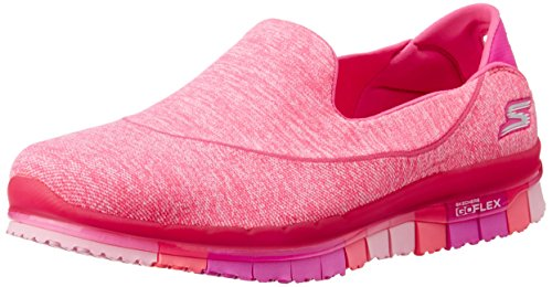 Femme EU Flex 36 Rose Baskets Basses Go Hot Skechers Bleu wFx0IU