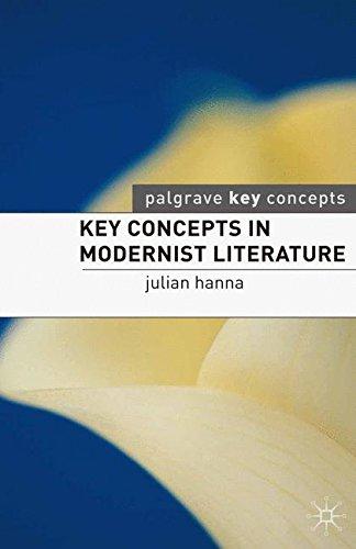 Key Concepts in Modernist Literature (Key Concepts: Literature)