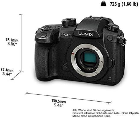 Panasonic DC-GH5 Lumix - Cámara Digital DE 20.3 MP (Cuerpo MILC ...