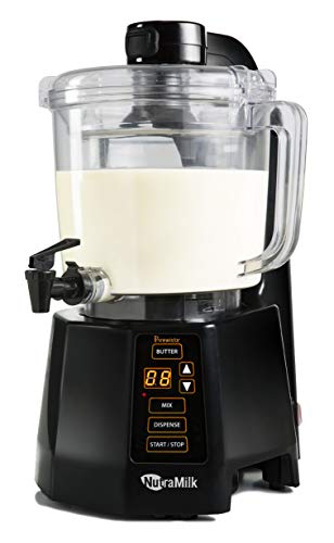 Make Almond Butter - NutraMilk BRNMC2LNA Nut Milk and Butter Processor-64 oz, 64 oz
