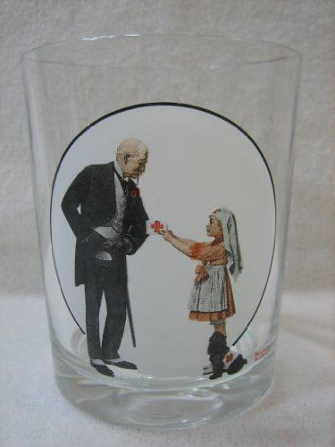 The Saturday Evening Post Norman Rockwell Glassware Collection - Red Cross Volunteer 1918 - Collectible (The Saturday Evening Post Norman Rockwell Glassware Collection)