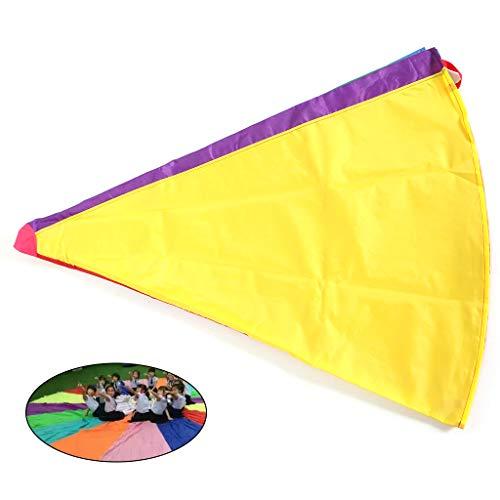 Aiyouxi 2m/3m Kids Children Rainbow Parachute Umbrella Games Outdoor Play Exercise Sports Toy Development Jump-Ballute by Aiyouxi (Image #2)