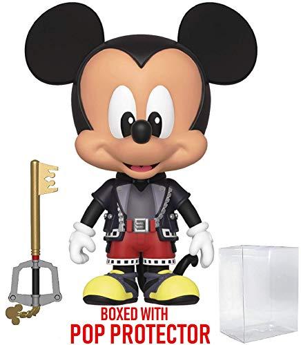 Funko 5 Star Disney: Kingdom Hearts 3 - Mickey Mouse Action Figure (Includes Compatible Pop Box Protector Case) ()