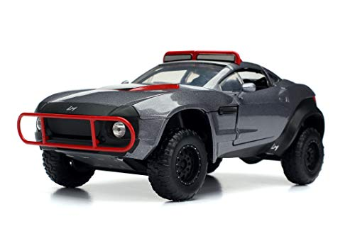 Jada Toys Fast & Furious 1:24 Letty's Rally Fighter Die-cast Car, Toys for Kids and Adults, Gray, Standard 1