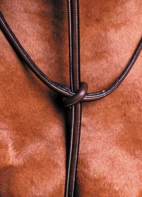 Collegiate Raised Standing Martingale - Color:Brown Size:Full ()