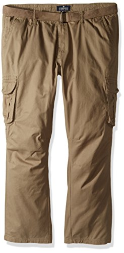 Company 81 Men's Big and Tall Camdem Cargo Pant, Fatigue, 50/32