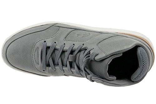 Lacoste Explorer Mid 316 Heren Sneakers Grijs Grau / Braun