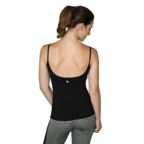 Cheap FABB ACTIVEWEAR Tank Top with Built In Bra Women (Large, Black)