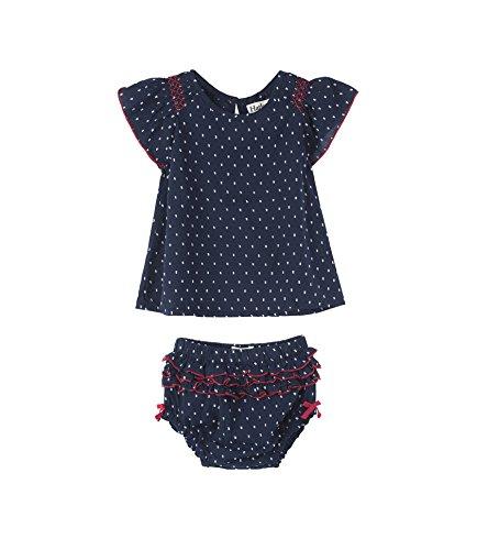 Hatley Baby Girls Mini Bloomer Sets, Solstice Swiss dots 12-18 -