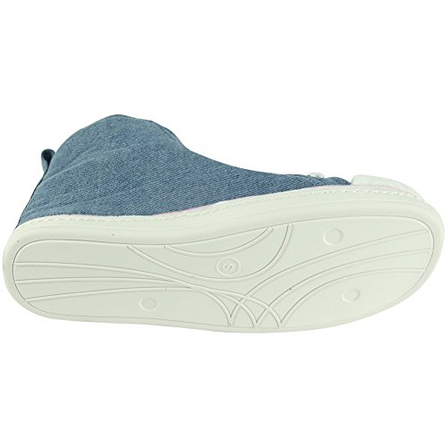 Pour Chaussons Jean Homme Gohom Blue 5Fgqwg7