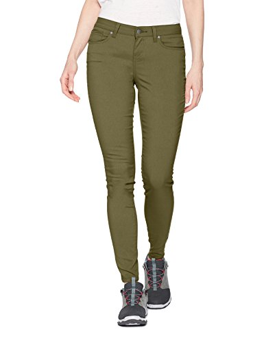 prAna Women's Standard Briann Pant, Cargo Green, 2 Regular Inseam