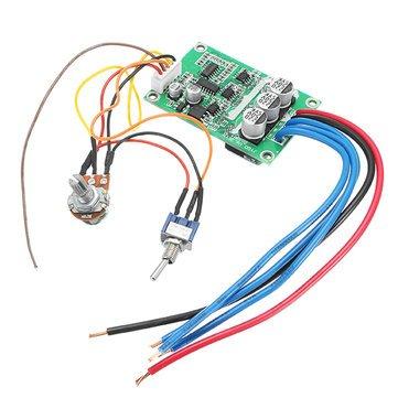 12V-36V 500W High Power Brushless Motor Controller Driver Board Assembled No Hall - Arduino Compatible SCM & DIY Kits Module Board - 1 x DC 12V-36V 500W High Power Brushless Motor Controller