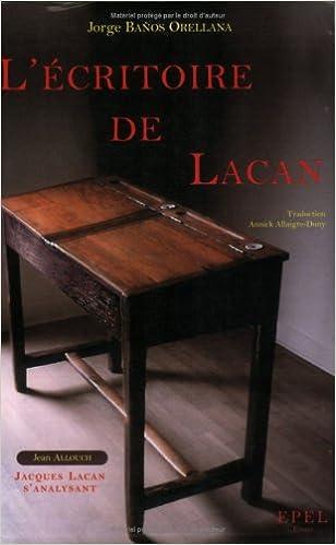 Lire en ligne L'écritoire de Lacan epub, pdf