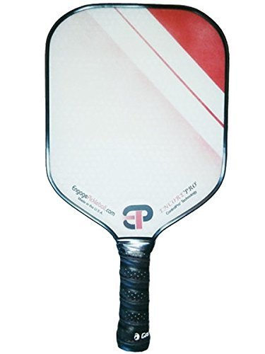 Engage Encore Pro Pickleball Paddle, Red Fade by Engage Pickleball