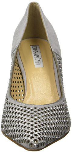Donna Piu 52820 Maty - Tacones Mujer Gris (Camoscio Perla)