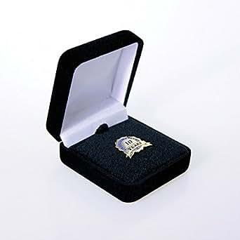 Anniversary Lapel Pin - Service Award Blue Ribbon - 10 Years
