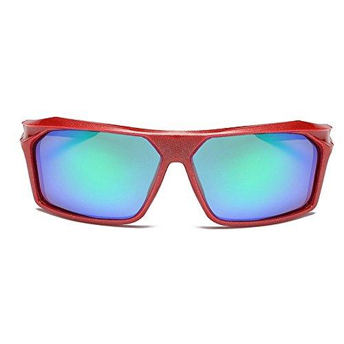 Air De Lunettes de De Soleil Protectrices Bleu en Lunettes Homme De pour Polarisées Lunettes UV Couleur Lunettes Soleil Plein Soleil Soleil Sports Red LBY nq7YZaWvO