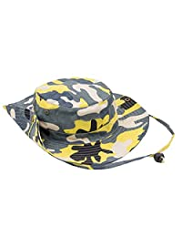 Feoya Camouflage Boonie Hats Fishing Caps Big-brimmed Hiking Sunhats Anti-uv Cap