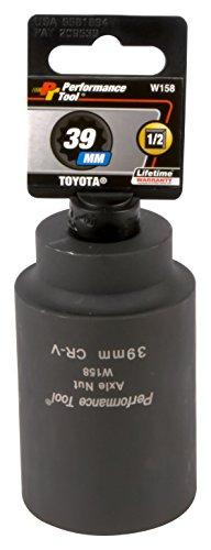 Compressor Work Boots - Performance Tool W158 39mm Toyota Axle Nut Socket