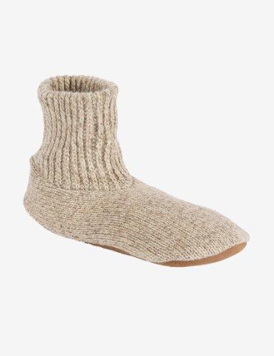 MUK LUKS Mens Ragg Wool Slipper Sox Slippers ()