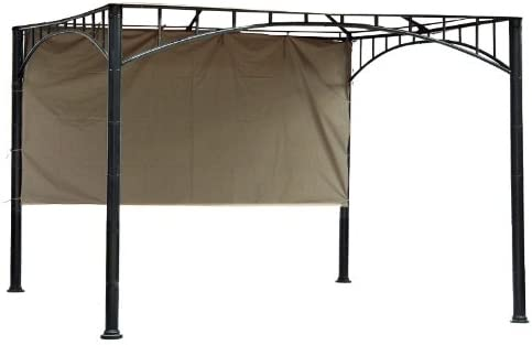 Garden Winds 12 Universal Pergola Side Sunshade – Beige