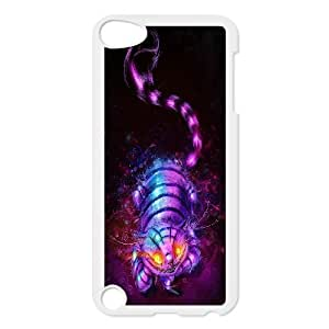 High Quality {YUXUAN-LARA CASE}Smail Cheshire Cat FOR Ipod Touch 5 STYLE-3